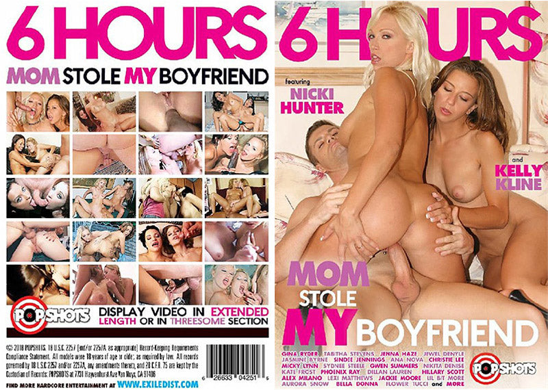 Mom Stole My Boyfriend - 6 Hours Pop Shots Sealed DVD