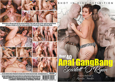 Over 40 Anal Gangbang #1 - Juicy Sealed DVD