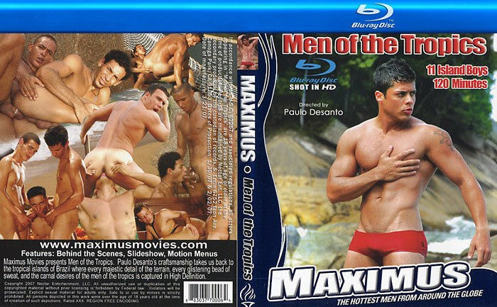 Maximus: Men of the Tropics - Gay - Blu Ray Special Sealed DVD