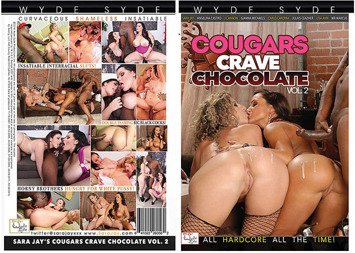 Cougars Crave Chocolate #2 - 2016 (sara jay) Wyde Syde Sealed DVD