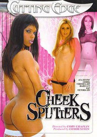 Cheek Splitters #1 DVD in White Sleeve Marie Luv - Ava Devine