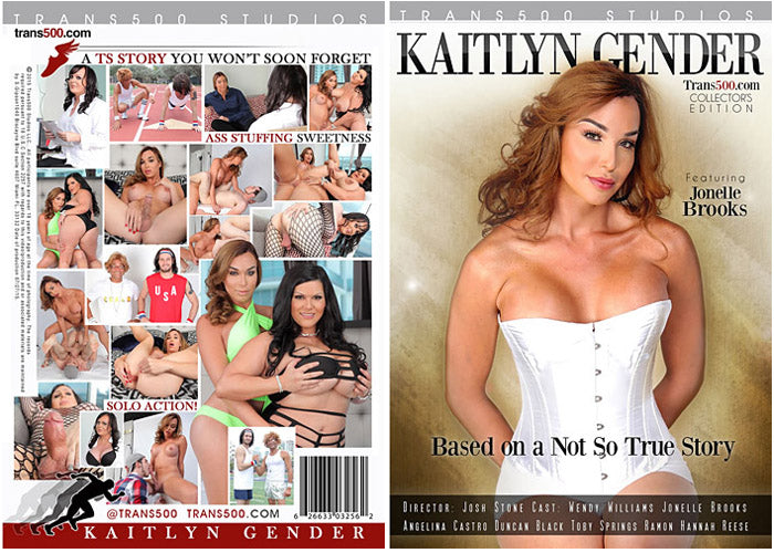 Kaitlyn Gender - Trans500 Sealed Transsexual DVD