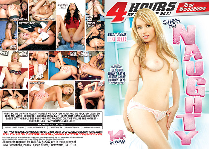 Shes So Naughty 4 Hour New Sensations Sealed DVD