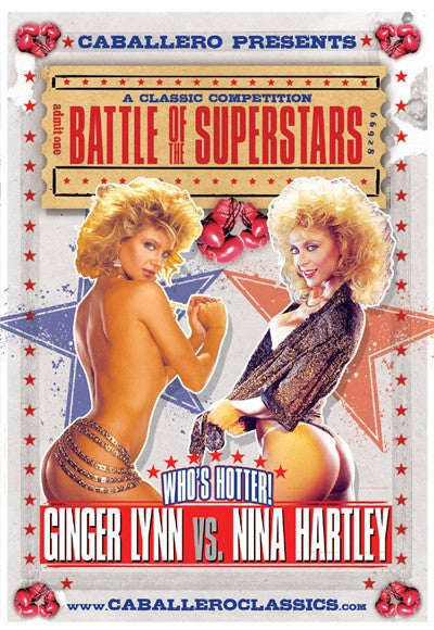 Ginger Lynn vs Nina Hartley - Classic DVD