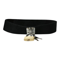 Sex & Mischief Lock & Key Collar One Size