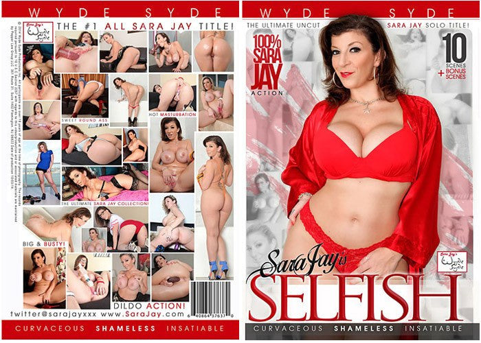 Sara Jay is Selfish (sara jay) Wyde Syde Sealed DVD