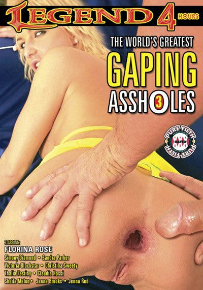 The Worlds Greatest Gaping Assholes #3 - 4 Hour DVD