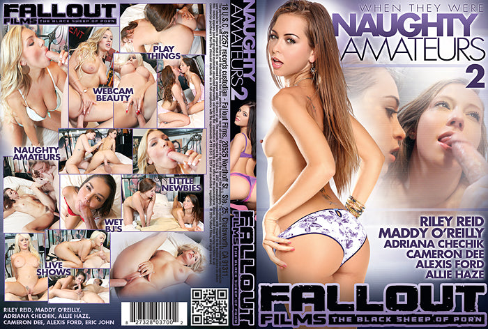 Naughty Amateurs #2 (riley reid) - Fallout 2016 Sealed DVD