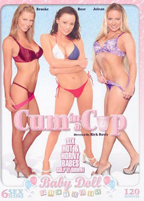 Cum in a Cup - Babydoll Sealed DVD