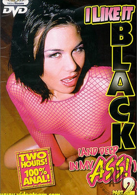 I Like it Black & Deep in My Ass #2  Ethnicity Films Sealed DVD