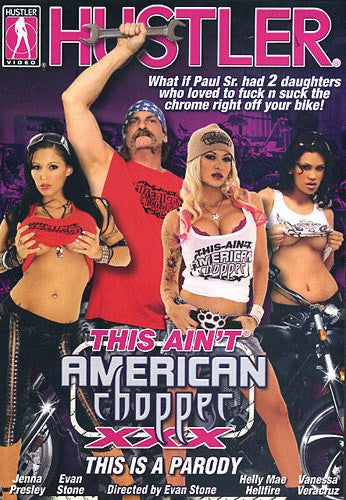 This Aint American Chopper XXX #1 Hustler 2013 Sealed DVD