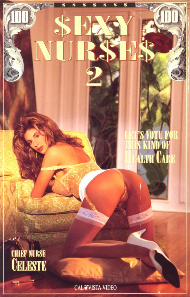 Sexy Nurses #2 (celeste) - Cal Vista Adult Sealed DVD