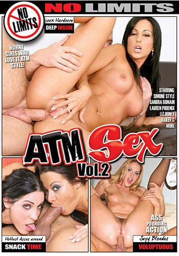 ATM Sex #2 (simone) - No Limits - DVD