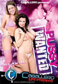 Pussy Wanted - Lesbian - DVD