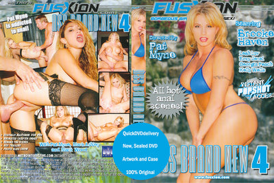 Ass Brand New 4 (all anal)  Brooke Haven Fusxion Sealed DVD