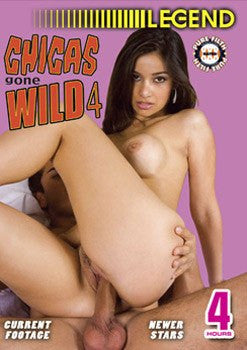 Chicas Gone Wild #4 - Legend 4 Hour DVD In Sleeve