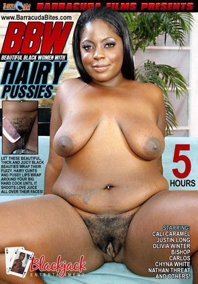 BBW Hairy Pussies 5 Hour DVD