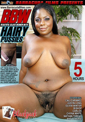 BBW Hairy Pussies 5 Hour DVD in Sleeve