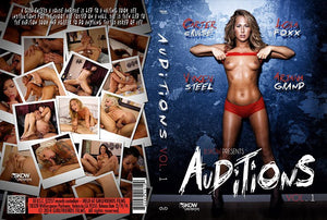 Auditions #1 (carter cruise) - Skow Sealed DVD
