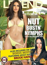 Nut Bustin Nymphs - Legend DVD In Sleeve