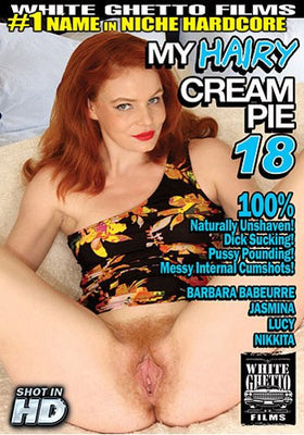 My Hairy Cream Pie #18 - White Ghetto Cheap Adult DVD