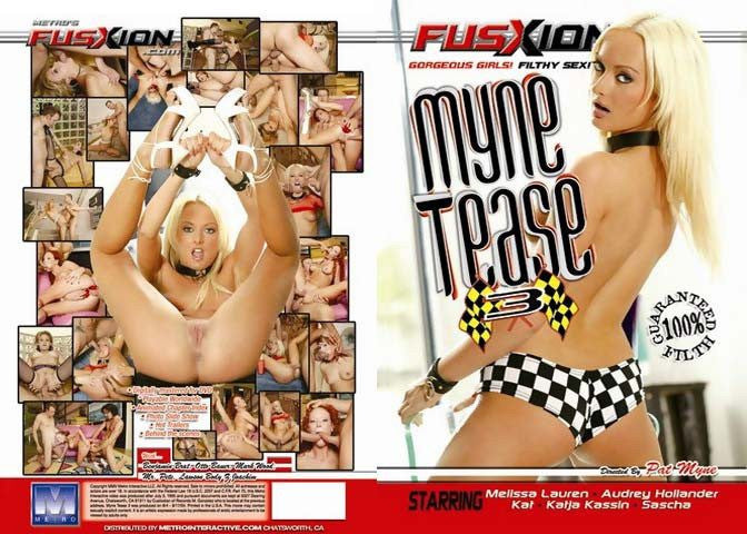 Myne Tease #3 Fusxion Adult XXX Sealed DVD