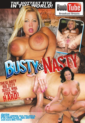 Busty & Nasty - 4 Hour DVD in Sleeve