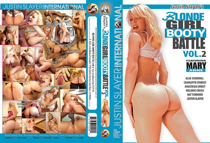 Blonde Girl Booty Battle #2 - Justin Slayer Sealed DVD