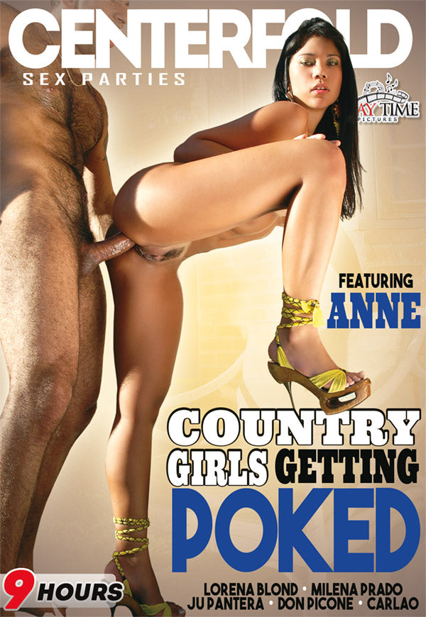 Country Girls Getting Poked - Centerfold - 9 Hour DVD