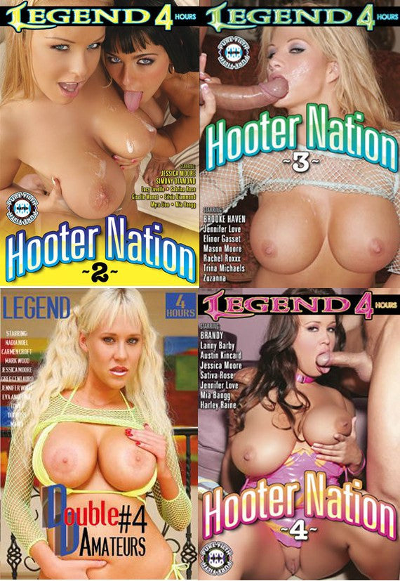 Big Breasted Big Tit Special,  16 Hour, 4 DVD Set #5