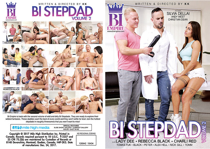 Bi Step Dad - Bi Empire Bisexual Sealed Adult DVD