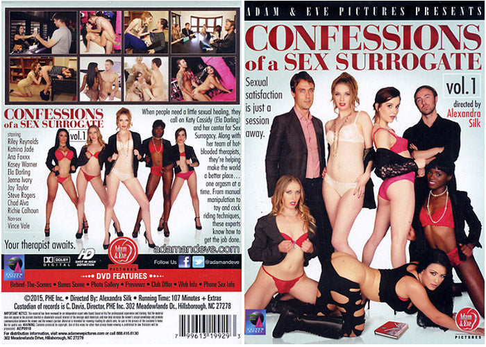 Confessions of a Sex Surrogate #1 - Adam & Eve Sealed DVD
