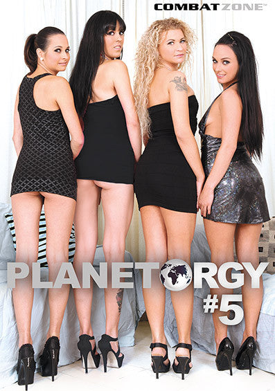 Planet Orgy #5 - Combat Zone DVD in Sleeve