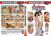 Lesbian Mature Women #1 (4 Disc Set), Channel 69 4 Pack Sealed DVD