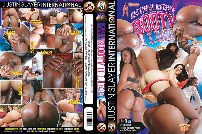 Booty I LIke #1 - Justin Slayer Adult XXX Sealed DVD