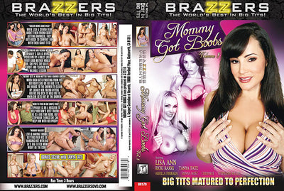 Mommy Got Boobs 8 Brazzers Sealed DVD