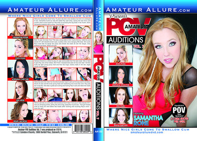 Amateur POV Auditions 7 Amateur Allure (adriana chechik) Sealed DVD