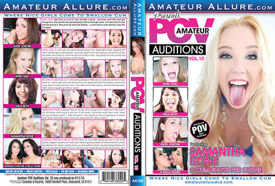 Amateur POV Auditions 10 Amateur Allure (adriana chechik) Sealed DVD