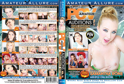 Amateur POV Auditions 15 Amateur Allure (riley reid) Sealed DVD
