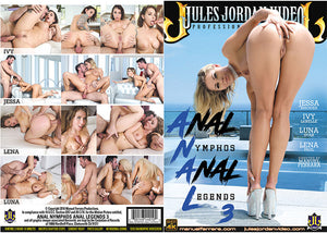 Anal Nymphos Anal Legends 3 - Jules Jordan (jessa rhodes) Sealed DVD