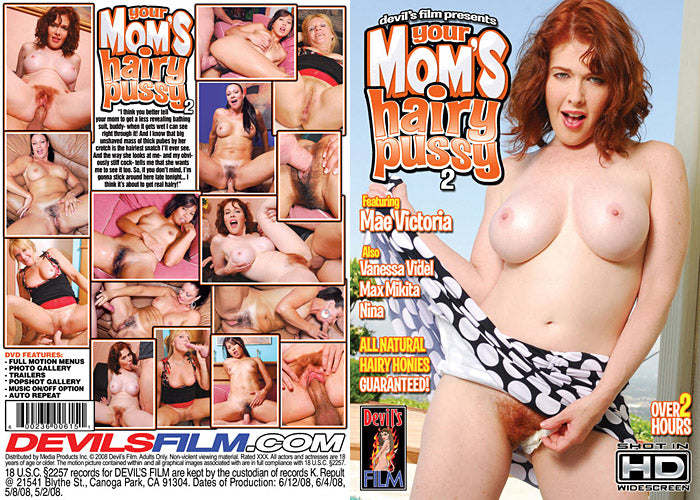 Your Mom's Hairy Pussy 2 Devils Film - Sealed DVD