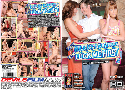 Wanna Fuck My Daughter Gotta Fuck Me First 2 Devils Film - Catalog Sealed DVD