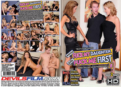 Wanna Fuck My Daughter Gotta Fuck Me First 6, Devils Film - Catalog Sealed DVD