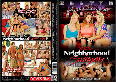 Neighborhood Swinger 15 Devils Film - Sealed DVD