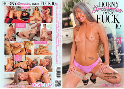 Horny Grannies Love To Fuck 10 Devils Film - (granny) Sealed DVD