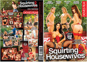 *The Squirting Housewives XXX 2 Devils Film - 2017 Sealed DVD