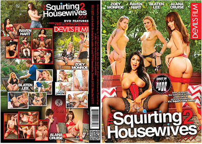 The Squirting Housewives XXX 2 Devils Film - 2017 Sealed DVD