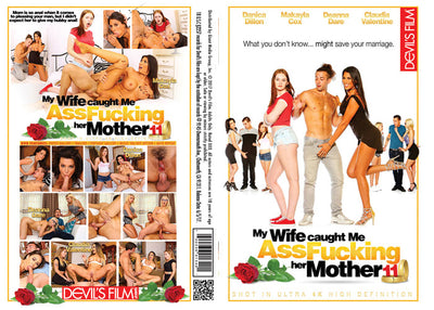My Wife Caught Me Assfucking Her Mother 11, Devils Film - New Sealed DVD