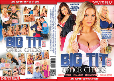 Big Tit Office Chicks 5 - Devils  Sealed DVD