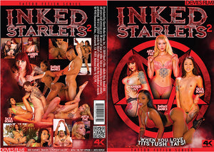 Inked Starlets 2, Devils Film Sealed DVD